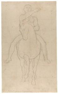 Ingres drawing