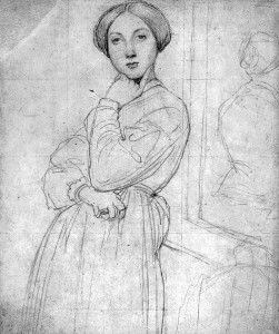 Drawing by Ingres
