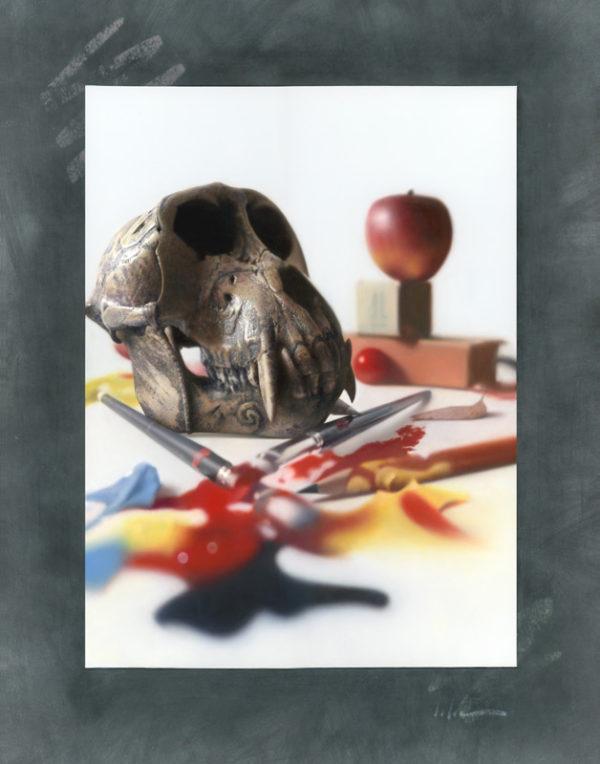 Totem, 20×16″, Oil