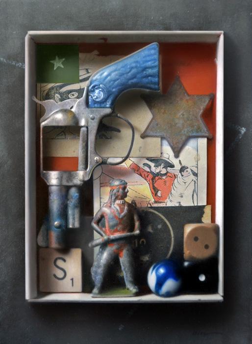 Hi-Yo Silver, 7×5″, Oil