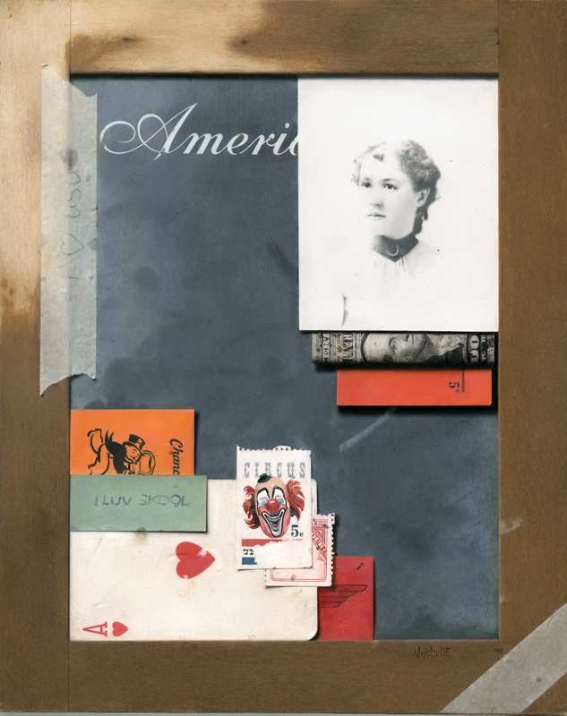 Americana, 10×8″, Oil