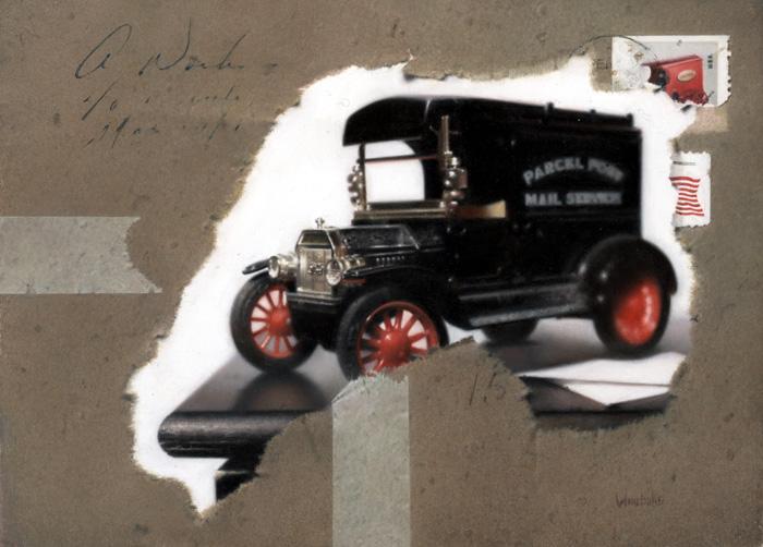 En Route, 5×7″,Oil